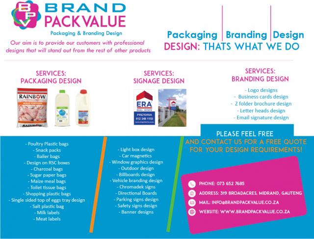 Brand Pack Value